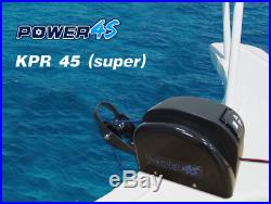 12V AutoDepoly Wireless Remote Control Anchor Winch Freshwater 45LBS Marine Boat