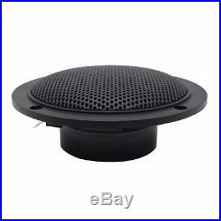 12 V Boat UTV Marine Bluetooth AM FM Audio Radio Stereo+42 Pair 2 way Speakers