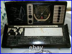 1 used Zenith 7G605 Trans Oceanic radio, sail boat version, tested
