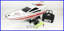 2020 2.4ghz Heng Long Rc Radio Control Atlantic Yacht High Speed Boat Model Toy