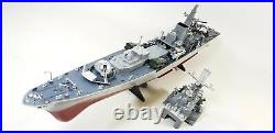 2.4G Radio Remote Control Destroyer RC Boat NAVY Warship Battleship Model Water