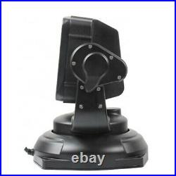 360° LED Searchlight Truck Boat Car Marine Wireless Spotlight Remote Control