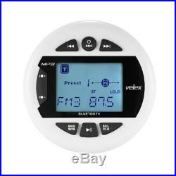 4 Boat Gauges Style Stereo FM AM Radio Stereo Marine Audio MP3 Player