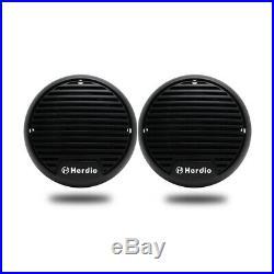 4 Marine Bluetooth Radio AM MP3 Player+3Boat Yacht Speakers+FM AM Radio Aerial