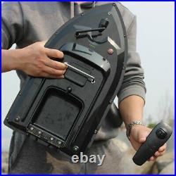 500M Wireless RC Carp Fishing Bait Boat Hook Post Dual Motors Fish Finder Assist