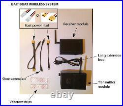 Bait Boat Wireless Camera System (Low power)