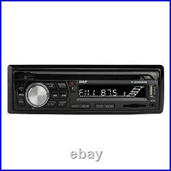 Bluetooth Marine Radio MP3/USB CD + Cover, 4 Ch Amp, 4x 6.5 Speakers, Antenna