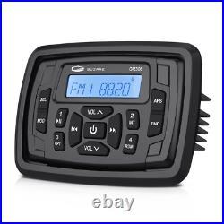 Boat Bluetooth Audio Receiver Marine Stereo System unit FM AM Radio for ATV UTV