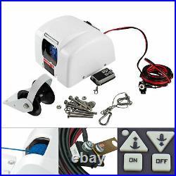 Boat Electric Windlass Anchor Winch&Wireless Control Marine Saltwater 25 LBS 12V