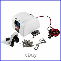 Boat Electric Windlass Anchor Winch Wireless Remote Controlled Marine Saltwater