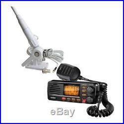 Boat Fixed Mount VHF 2-Way Marine Radio Tram Communication Program Scan Text New