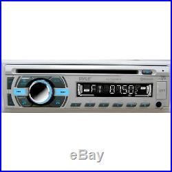 Boat Marine AM/FM Radio MP3 SD Receiver/ Bluetooth 400W Amp 4 Speakers Cover Pkg