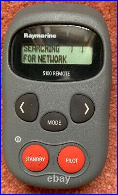 Boat Marine Raymarine S100 Wireless SeaTalk Autopilot Remote Control E15024