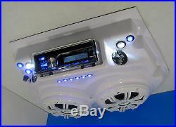 Boat T Top Radio Kenwood Bluetooth Marine Radio Overhead Console Stereo