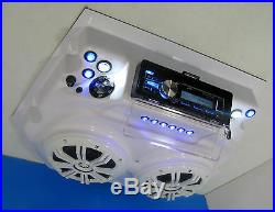 Boat T Top Radio Kenwood Bluetooth Marine Radio UNIVERSAL Overhead Radio