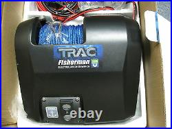 Boat Trac Freshwater Fisherman Electric 25 Anchor Winch withWireless Remote Kit