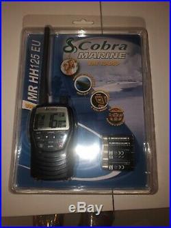 Cobra Mr Hh125 Handheld Vhf Marine Eu Version Lcd Radio For Boat Vessel Yacht Marine Boat Radio