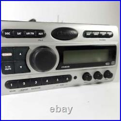 Clarion CMD5 Marine Grade Boat Stereo Unit AM/FM Sirius XM Radio PRE OWNED