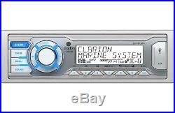 Clarion Water Resistant Marine AM FM USB Boat Stereo Radio, Marine Radio Antenna