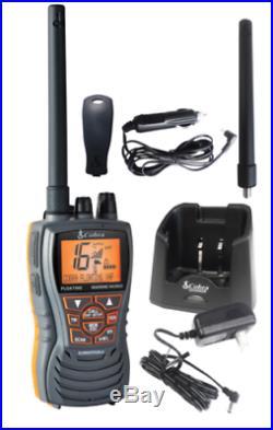 Cobra HH350 VHF Floating Handheld VHF Marine LCD Radio Boat MR HH350 FLT EU BOAT