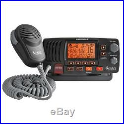 Cobra MRF57B VHF Class-D Marine Boating Radio NOAA Weather Channels Sea Tow