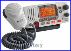 Cobra MRF77W GPS GPS 25 Watt Class-D VHF Submersible Marine Boating Radio NOAA