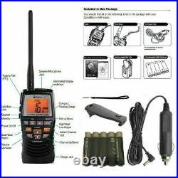 Cobra MR HH150 HH 150 LCD EU Floating Handheld VHF Marine Radio BOAT YACHT SAIL