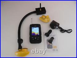 Colour Bait boat Wireless fish finder, over 150 m range, 2 sensors, Features