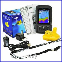 Colour Wireless Fish Finder 100 Metre Range, Depth, Features, Carp, boat, rod