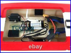 DT E32 RTR RC Fiber Glass Catamaran Racing Boat Brushless Motor Radio Battery