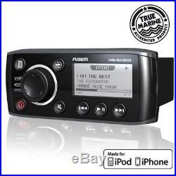 FUSION MARINE MS-RA200 Radio AM FM USB iPod iPhone 3GS 4 Outdoor Boot Boat Yacht