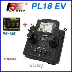 Flysky 18CH PL18EV Transmitter Radio System FGR12B Receiver RC Boat Car Tank