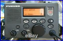 Furuno VHF Radiotelephone Model FM-3000 Marine Boat Radio Telephone FM3000