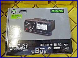 Fusion MS-RA205 Marine Radio Compact Stereo AM/FM/USB/iPod Boat SiriusXM Ready