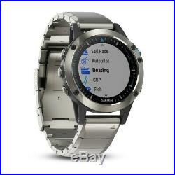 Garmin Quatix 5 Sapphire Edition Multisport Marine Smartwatch (0100168841)