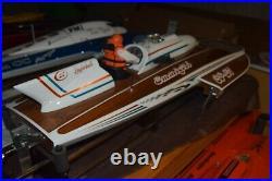Gas rc radio control boat Blazer Lauterbach Thunderboat