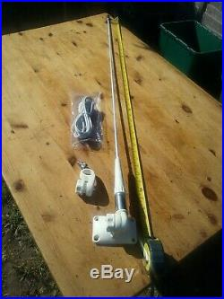 Glomex Marine Vhf Radio Antenna Aerial Boat Rib Transom Or Console Mount