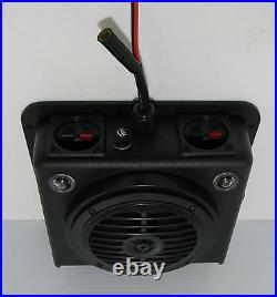 Golf Cart UTV Radio Overhead Console Stereo Boat Tractor KENWOOD BLUETOOTH RADIO