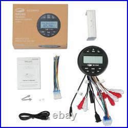 Guzare Marine Stereo Bluetooth Audio Boat Radio Steyem Receiver for ATV UTV Car