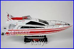 HUGE RC Heng Long Radio Remote Control Twin Motor Atlantic Yacht Speed Sail Boat