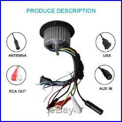 Herdio Marine Boat Car Bluetooth AM/FM Radio +4inch white Speakers + antenna
