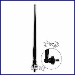 Herdio Marine FM/AM Boat Bluetooth Radio +4PCS 3'' Boat speakers+Radio antenna