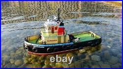 Hobby Engine Southampton Tug Radio Control Tugboat 2.4 ghz RTF Boat with Batteries