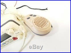 ICOM IC-M422 Marine Boat VHF Radio CB White