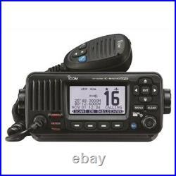ICOM IC-M424G Marine Transceiver VHF Radio GPS ITU Class-D DSC Boat RV Camper