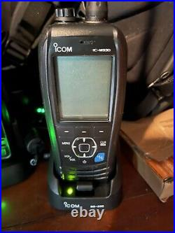 ICOM IC-M93D VHF Marine Transceiver, Marine Boat Radio, NOB