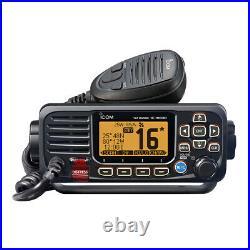 ICOM M330 VHF Marine Boat Radio Radio Fixed Mount Black M330 11 NEW