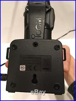 Icom IC-M73 VHF Marine Radio Boat River Barge Dock & Rapid Charger