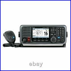 Icom RKB M605 21 Icom Boat Marine Radio Refurbsihed VHF withColor Display AIS Rear