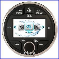 JBL Gauge Mount Marine Audio Bluetooth Stereo Radio Receiver Boat UTV USB New